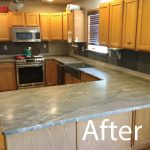 Countertop After picture