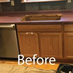 Before Countertop Picture